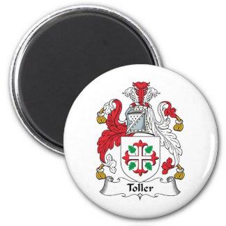 Escudo de la familia del Toller Imán Redondo 5 Cm
