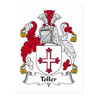 Escudo de la familia del Toller Postales
