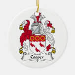 Escudo de la familia del tonelero ornamentos para reyes magos