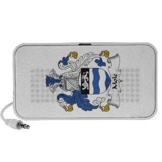 Escudo de la familia del topo iPod altavoz