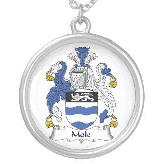 Escudo de la familia del topo grimpola