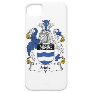 Escudo de la familia del topo iPhone 5 Case-Mate cárcasa