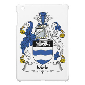 Escudo de la familia del topo iPad mini carcasas