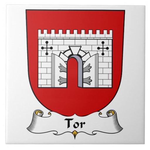 Escudo de la familia del Tor Azulejos Ceramicos