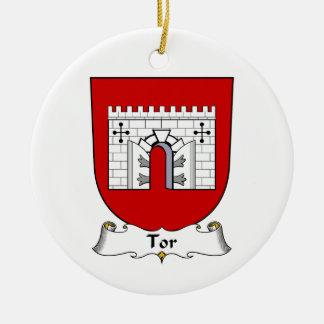 Escudo de la familia del Tor Adornos