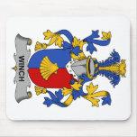 Escudo de la familia del torno tapete de ratón