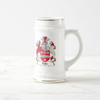 Escudo de la familia del traje jarra de cerveza
