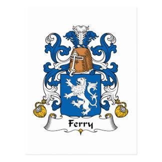 Escudo de la familia del transbordador postal