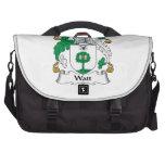 Escudo de la familia del vatio bolsas de portatil