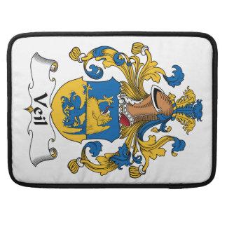 Escudo de la familia del velo funda para macbooks