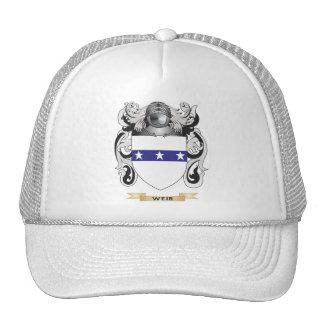 Escudo de la familia del vertedero (escudo de arma gorra