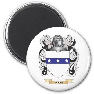 Escudo de la familia del vertedero (escudo de arma imán para frigorifico