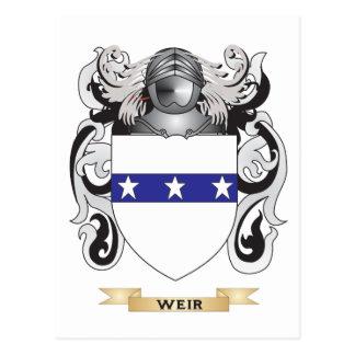 Escudo de la familia del vertedero (escudo de arma postales