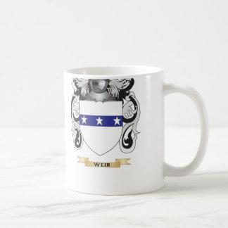 Escudo de la familia del vertedero (escudo de arma tazas de café