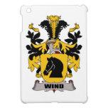 Escudo de la familia del viento iPad mini funda