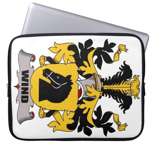 Escudo de la familia del viento manga portátil