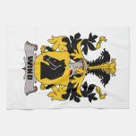 Escudo de la familia del viento toallas