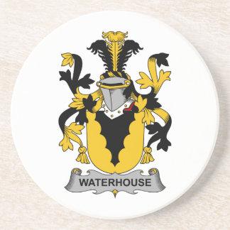 Escudo de la familia del Waterhouse Posavasos Manualidades