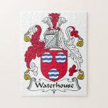 Escudo de la familia del Waterhouse Puzzle