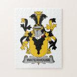 Escudo de la familia del Waterhouse Rompecabezas