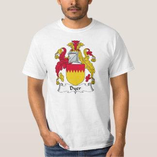 Escudo de la familia el tintóreo camisas