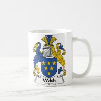Escudo de la familia Galés Tazas De Café