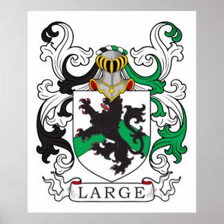 Escudo de la familia grande (irlandés) poster
