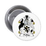 Escudo de la familia Phillips Pins