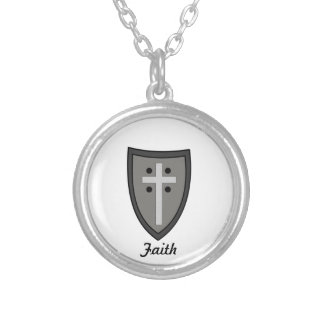 Escudo de la fe grimpolas personalizadas