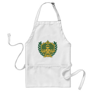 Escudo de la fraternidad de la zeta de la zeta de  delantal
