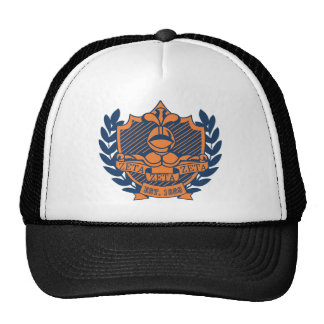 Escudo de la fraternidad de la zeta de la zeta de  gorro de camionero