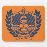 Escudo de la fraternidad de la zeta de la zeta de  tapetes de ratón