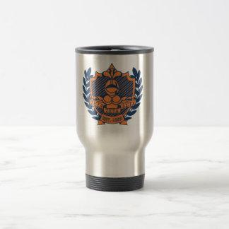 Escudo de la fraternidad de la zeta de la zeta de  taza de viaje de acero inoxidable