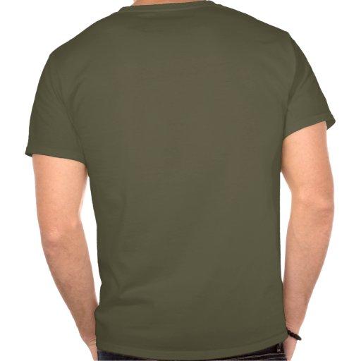 Escudo de la guerra del fantasma del nativo camisetas