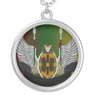 Escudo de la herencia de Jikoba Pendientes Personalizados