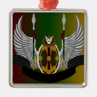 Escudo de la herencia de Jikoba Ornamento De Navidad