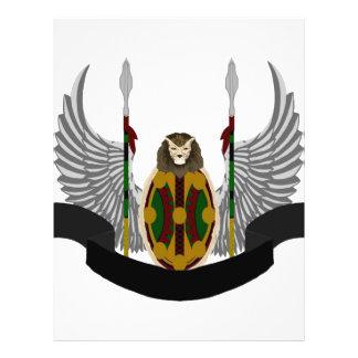 Escudo de la herencia de Jikoba Tarjetas Publicitarias