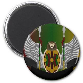 Escudo de la herencia de Jikoba Iman De Nevera