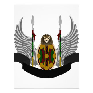 Escudo de la herencia de Jikoba Membretes Personalizados