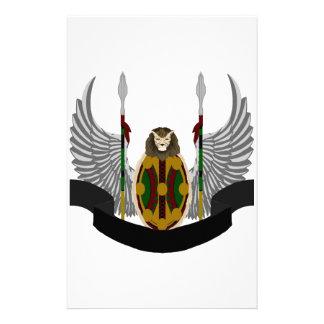 Escudo de la herencia de Jikoba Papelería