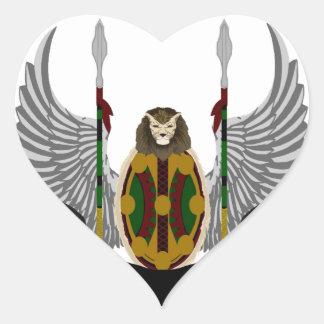 Escudo de la herencia de Jikoba Pegatinas