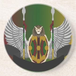 Escudo de la herencia de Jikoba Posavasos Diseño