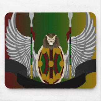 Escudo de la herencia de Jikoba Alfombrillas De Raton