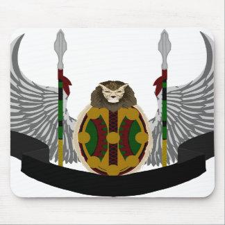 Escudo de la herencia de Jikoba Tapete De Ratones