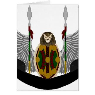 Escudo de la herencia de Jikoba Tarjetas