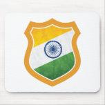Escudo de la India Tapete De Ratón