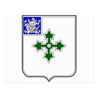 Escudo de la infantería 47 postales