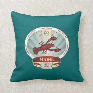 Escudo de la langosta de Maine Almohadas