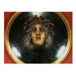 Escudo de la medusa tarjetas postales