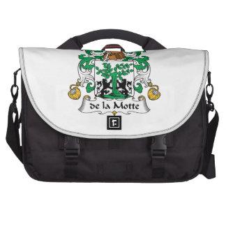 escudo de la Motte Family Bolsas Para Ordenador